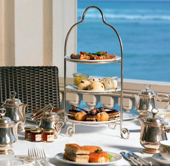 Hawaiian High Tea at The Westin Moana Surfrider, Waikiki
